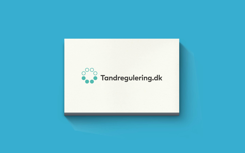 Logodesign som del af visuel identitet for Tandregulering.dk
