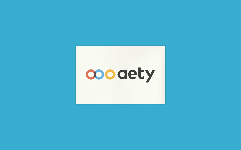 Designmanual og webdesign til Aety.io