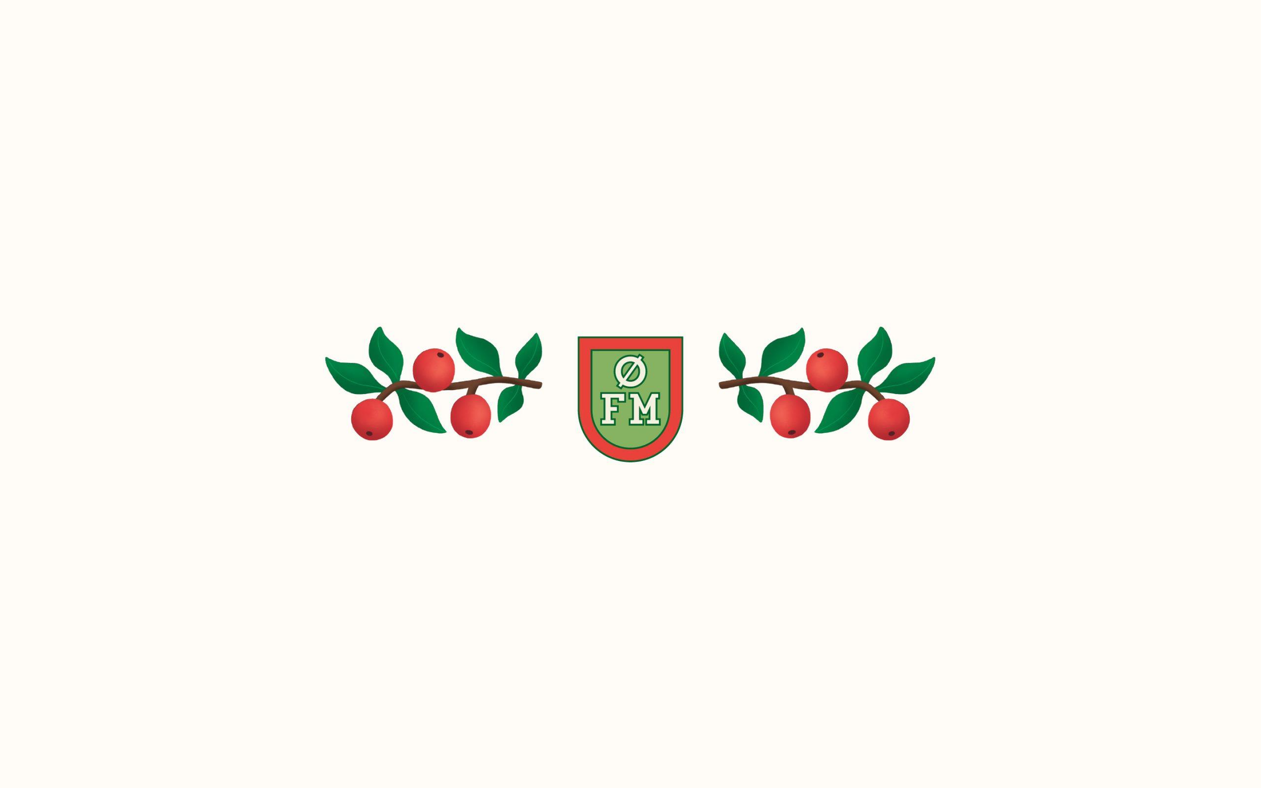 Logodesign som del af identitet til Østergård